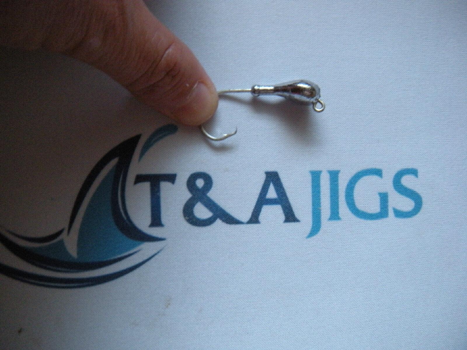 25 3 16 oz  Jigs Saltwater Circle Hooks Jig Heads  SPARKIE  Lot of 25 T&A JIGS