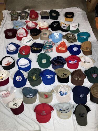 Vintage Snapback Hats Strap backs Farmer Patch Hat