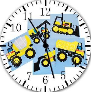 Wanduhren Uhren & Schmuck Tonka Trucks Frameless Ohne Grenzen Wanduhr Schön Für Geschenke Oder Wohndeko