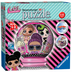 11162-Ravensburger-LOL-Doll-Surprise-3D-Jigsaw-Puzzle-72-Pieces-Children-Age-6