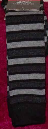 GREAT COLORS SIZE 9-11 NEW WITH TAGS * LADIES FASHION KNEE HIGHS