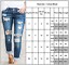 NEW WOMEN HIGH WAIST SKINNY JEANS RIPPED LADIES JEGGING KNEE 6 8 10 12 14 16 18