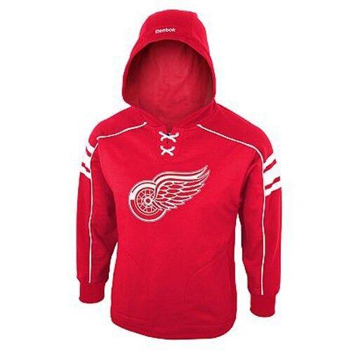 Reebok Detroit Ailes Rouges Polaire Airstrike Nwt Sweat-Shirt à Capuche Nwt Airstrike Jeune fa8137