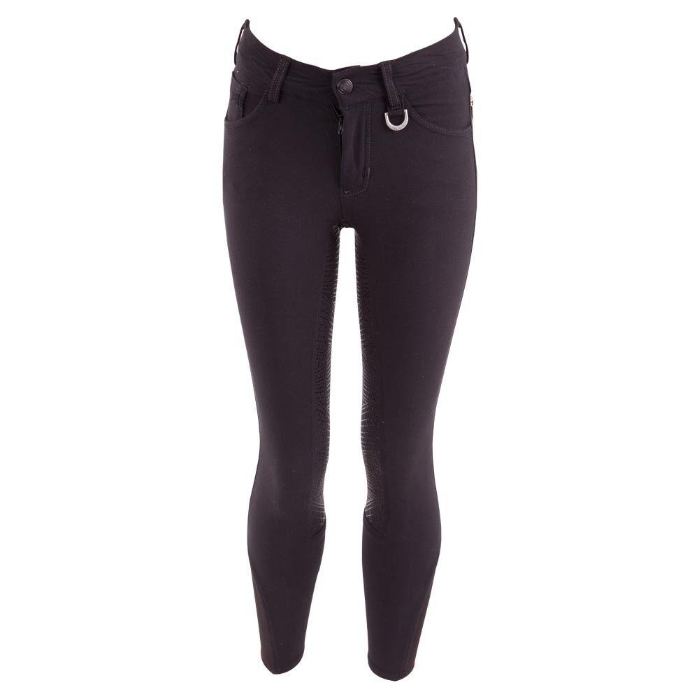 BR bambini breeches Milo Navy dark blu adjustable waistbe elastic leg closure