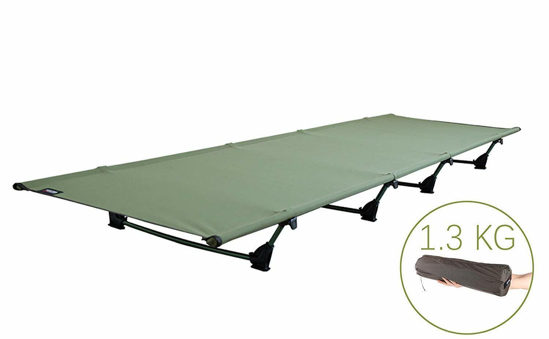 Cama de campamento, cama al aire libre, cama liviana, bolsa sin cama.