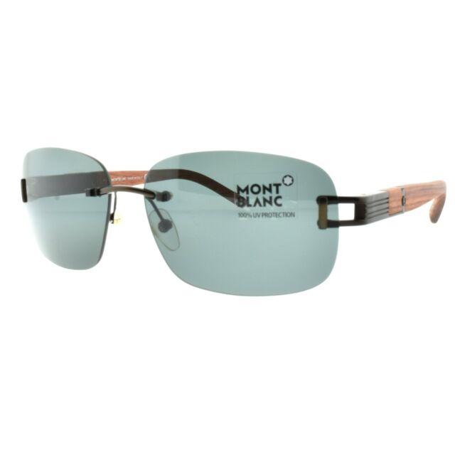 f463facc63a5 Mont Blanc Mb408s Sunglasses MB 408s Authentic DESIGNER Sun Glass ...