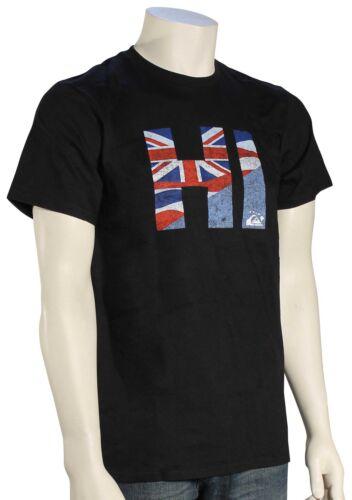 New Black Quiksilver HI Quik T-Shirt