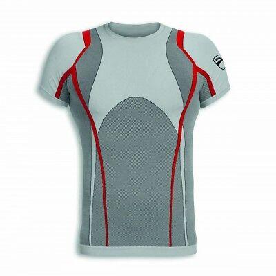 Ducati Performance Funktionsshirt T-Shirt ohne Nähte selbstlöschend