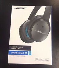 Brand New Sealed Bose Black QuietComfort 25 Acoustic Noise Cancelling Headphones