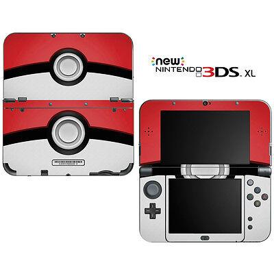 Pokemon Pokeball for New Nintendo 3DS XL Skin Decal Cover | eBay