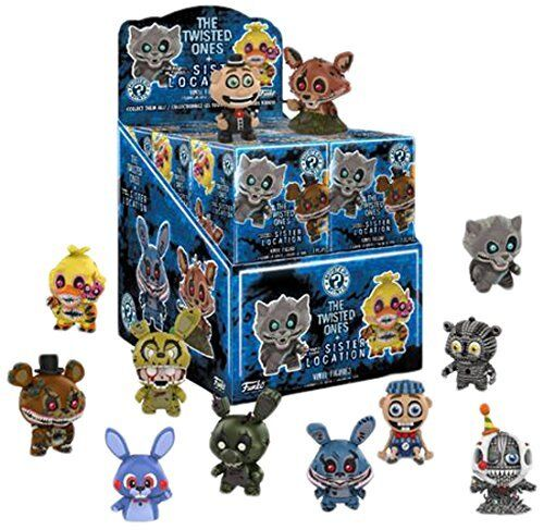 Un Mystère figure Cinq Nights at Freddy/'s Twisted Ones Funko Mystery Mini