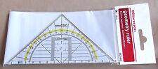 Office Depot - Geodreieck Transparent 16 cm, Lineal