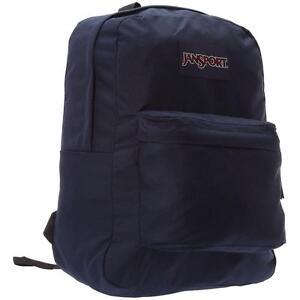 38c2eec7ec6 JanSport SuperBreak 25L Backpacks - Navy for sale online