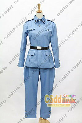 Hetalia Axis Powers Finland Tino Uniform Cos Clothes Cosplay Costume