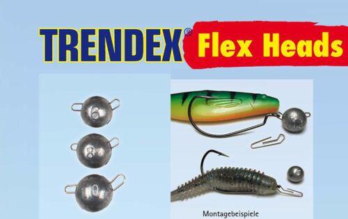 Behr Trendex Flex Heads Cheburashka Bleikopf Einhängekopf  Vorschaltblei 7 Stk