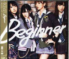 AKB48 - Beginner - Japan CD+DVD - NEW - J-POP Type B