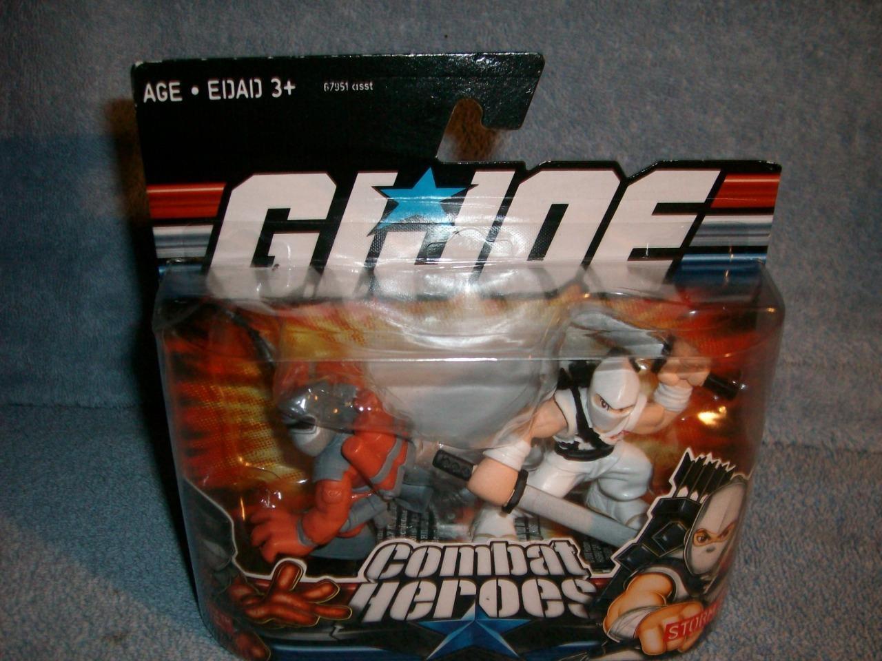 Barbecue Storm Shadow GI Joe Old School Combat Heroes Hasbro 2008 New Sealed