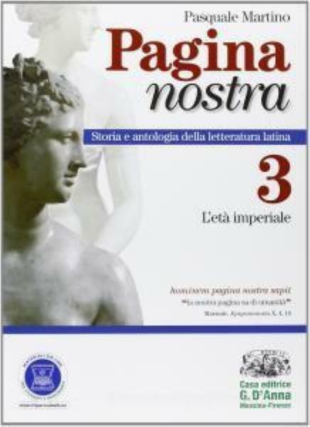Pagina nostra vol.3 età imperiale, MARTINO, D'Anna scuola, cod:9788881049264