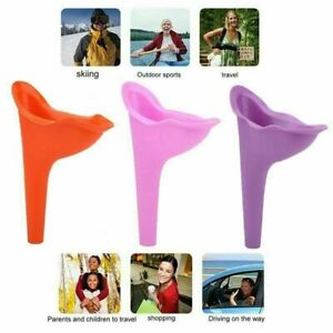 2x Portable Camping Female She Urinal Funnel Ladies Urine Wee Loo Travel gipaser