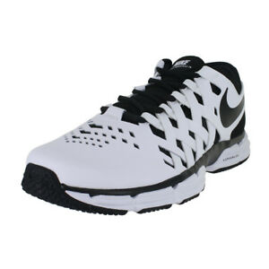 f4ba7d899c9 NIKE LUNAR FINGERTRAP TR 4E WHITE BLACK 898065 100 MENS US SIZES