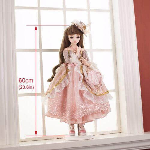 Puppen & Zubehör 60cm 1/3 BJD Doll Reborn Mädchen Puppen Mit Make-Up Hochzeit Kleid Braut Toy Neu