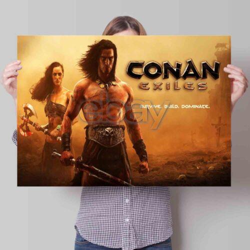 Conan Exiles Custom Poster Print Art Wall Decor