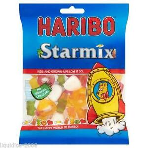 Haribo Sour Cherries 160g Bag Of Kids Bags Of Sweets Chews Easter Present Gift Candy, Gum & Chocolate