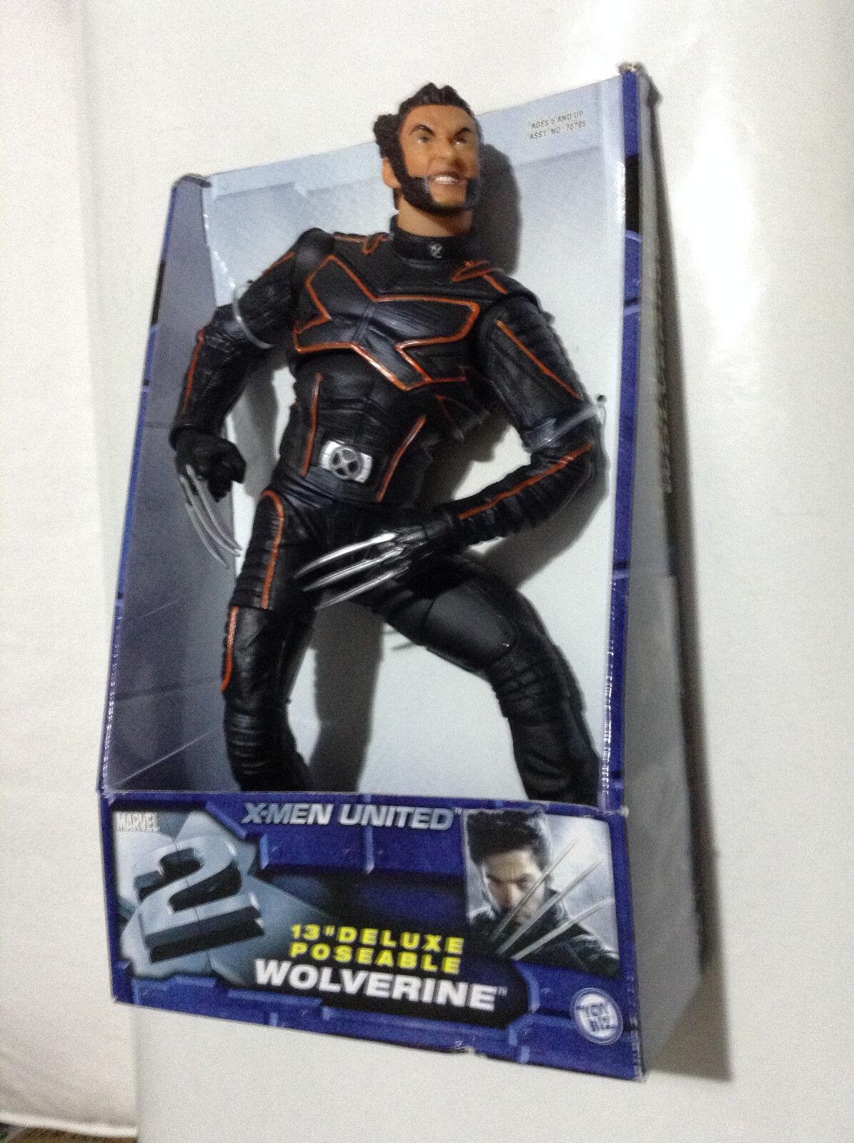 venta al por mayor barato X-men 2 United película Wolverine Hugh Jackman 13    Nuevos Marvel ahora 4 Poseable figura  ahorra hasta un 50%