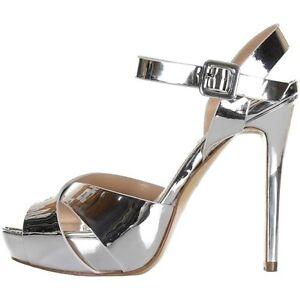 Hebilla Zapatos Plata Salón Ikaros 2722 De Ceremonia Sandalias Mujer 2EHID9