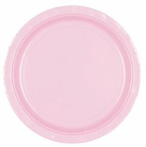 Image is loading LOVELY-PINK-9-034-Paper-PLATES-Birthday-Christening-  sc 1 st  eBay & LOVELY PINK 9