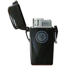 Stormproof Floating Lighter - UST Butane Survival Lighter - Black - Emergency