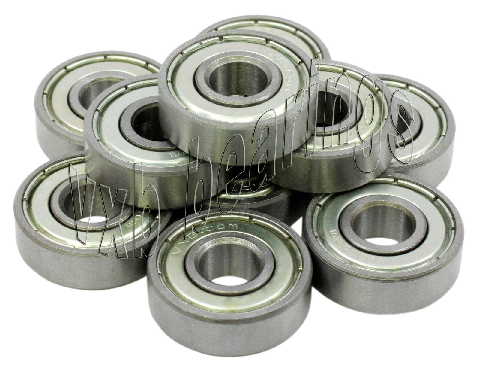 10 ABEC-5 Kugellager 5x8x2.5 Keramik Rostfrei 5x8 Mm