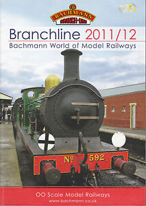 BACHMANN-BRANCHLINE-OO-2011-12-Catalogue-178-Pages-MINT-CONDITION