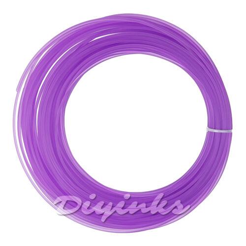 Mini 50g//12m 3D Printer Filament 1.75mm 3mm ABS//PLA 3D pen doodle reprap