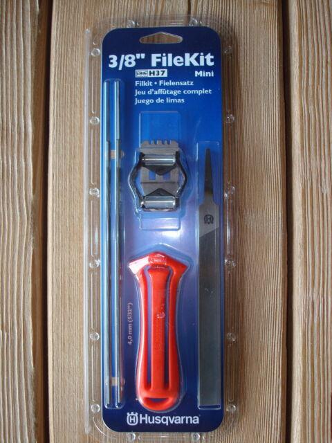 "Husqvarna 38///"" FileKit  Mini H37 Feilenset 4,0 mm Picco Kettenfeile"