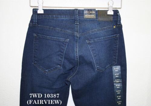 Lucky Brand,Women/'s Jeans,SASHA SUPER SKINNY.MidRise,CURVY Fit,Contoured Waist