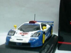 Wow extrêmement rare Mclaren Bmw F1 Gtr 1999 # 1 Emi Gtc britannique 1:43
