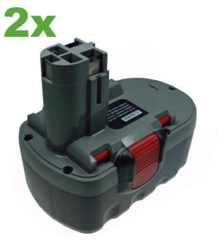 2x Batterie 3000 mAh pour Bosch 53518b gsb-18ve-2 gsb-18-ve2