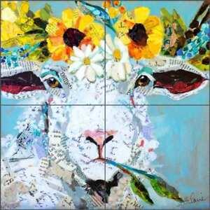 Sheep-Tile-Backsplash-St-Hilaire-Floral-Animal-Art-Ceramic-Mural-OB-EN981