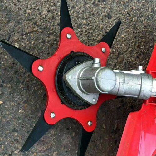 6 Teeth Brush Cutter Blade Trimmer Metal Blades Trimmer Head 65Mn For Lawn Mower