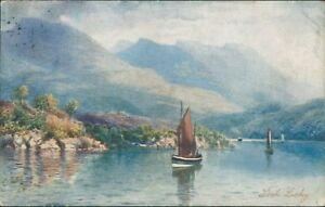 Loch-lochy-1907-tucks-oilette-H-B-wimbush