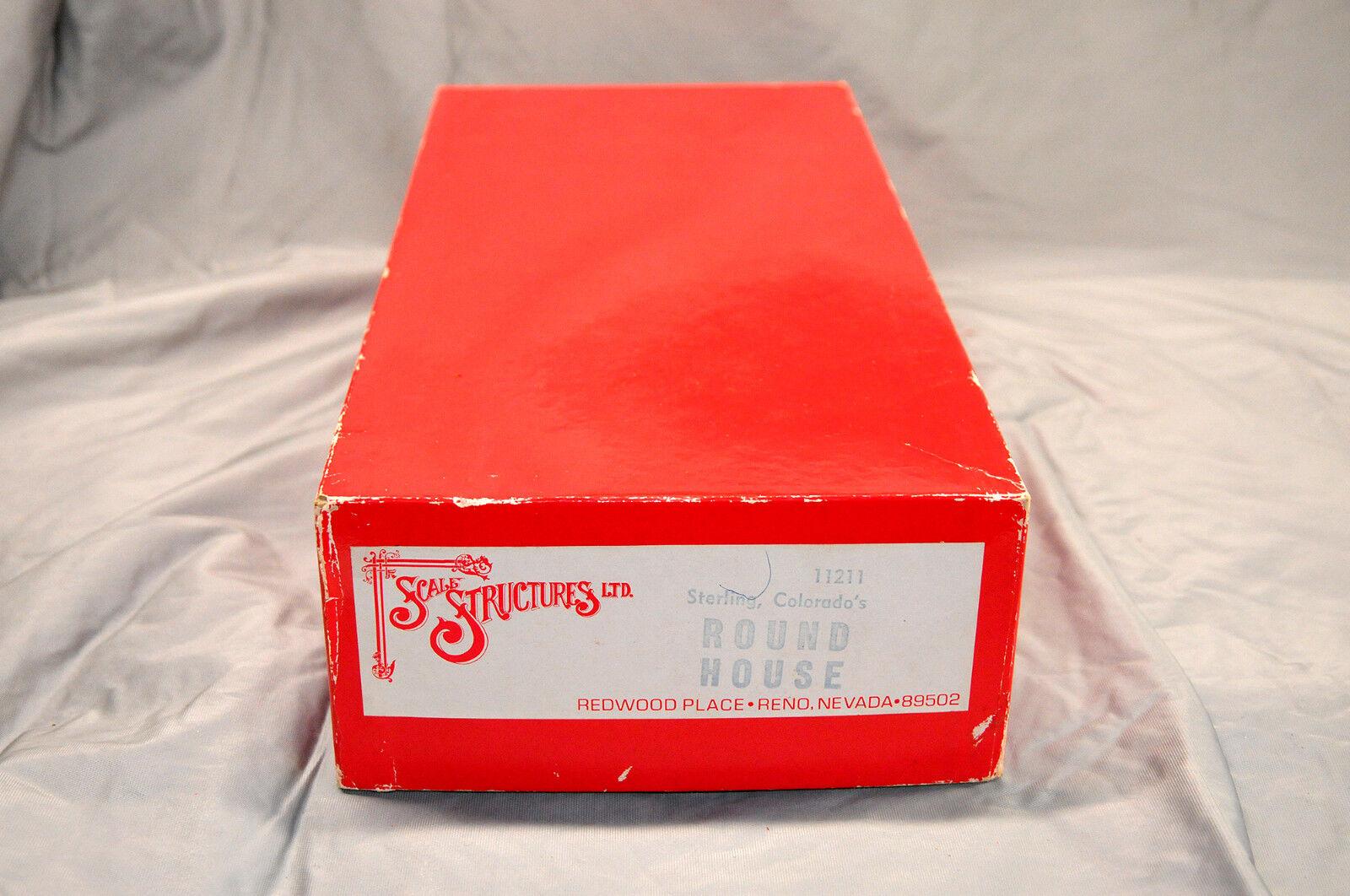 HO SS Ltd Sterling Coloreeeeado Roundhouse Kit, 11211, NEW, Original all metal