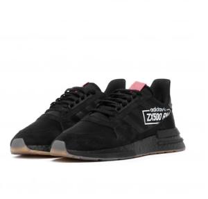 cc01ca4bf Adidas Originals ZX 500 RM Boost Black Shoes Sneakers BB7443 SZ 4-12 ...