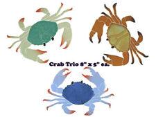 "Crab 8"" Trio Mosaic Tile swimming pool Bath wall table bar patio walk way art"