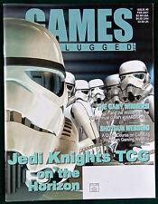 Games Unplugged.com Magazine Adventure & War Gaming Issue #5  Star Wars Jedi Mag