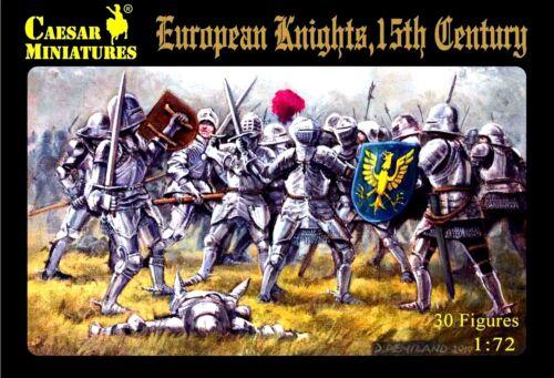 15th Century Caesar Miniatures 1//72 091 European Knights