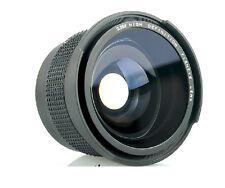 0.35x Fisheye Wide Angle Macro Lens 58mm for Canon Rebel T3i T3 T2i T1i T2 18-55