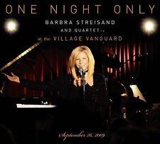 One Night Only Live [Digipak] by Barbra Streisand (CD, May-2010, 2 Discs, Colum