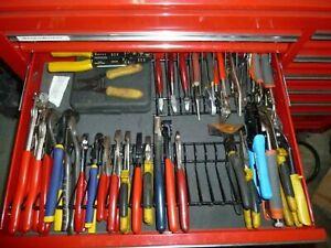 Pliers-Holder-Rack-Tool-Drawer-Storage-Toolbox-Garage-Wrench-Organizer-Metal