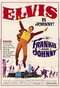FRANKIE-AND-JOHNNY-Movie-POSTER-27x40-Elvis-Presley-Donna-Douglas-Harry-Morgan